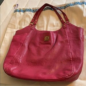 Tory Burch fucshia purse